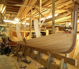 building a new sailing boat